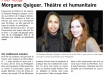 Newspaper Télégramme - February 17, 2014