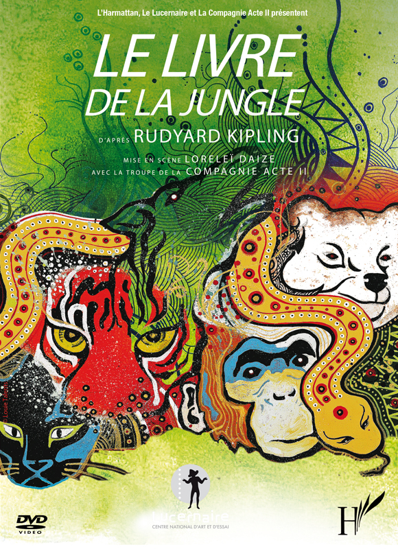 lelivredelajungle DVD